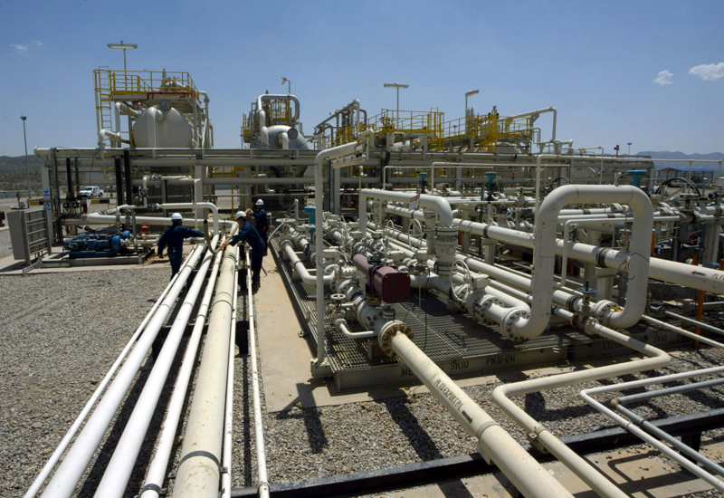 The government is seeking to import approximately 500 million cubic feet of gas daily from Algeria AFP Photo