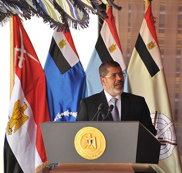 President Morsy (file photo) AFP PHOTO / SAID KHATIB