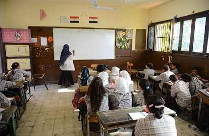 Al-Azhar and the Ministry of Education have agreed to work together reforming the education system. (PHOTO BY MOHAMED OMAR)