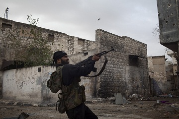Since the onset of the Syrian civil war, foreign fighters have made their way into the country. (AFP PHOTO)