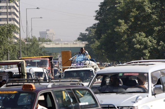 Heavy traffic continues to be a feature of everyday life in Cairo Daily News Egypt