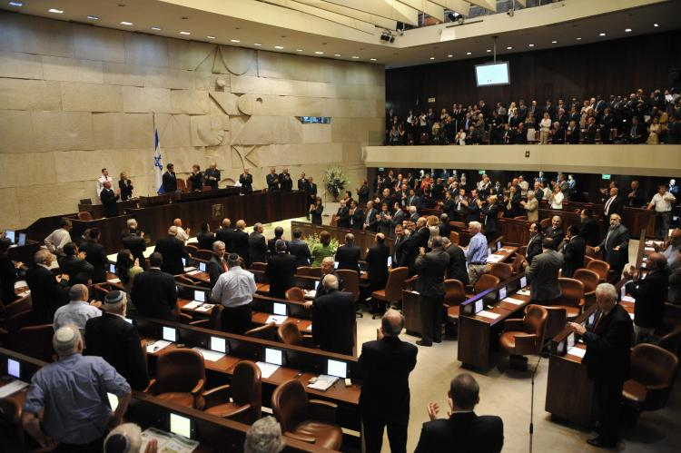 The Israeli Knesset has voted to dissolve, forcing early elections. (AFP/ Eric Feferberg)