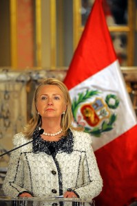 Clinton said the buck stopped with her on security decisions and played down initial communications errors.(AFP Photo /Geraldo Caso)