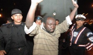 One of the Sudanese refugees arrested during a 2005 demonstration. Many were granted refugee status by the UNHCR after being arrested; many more ended up in Egyptian prisons or were deported. (Photo courtesy of Ibrahim Musa)