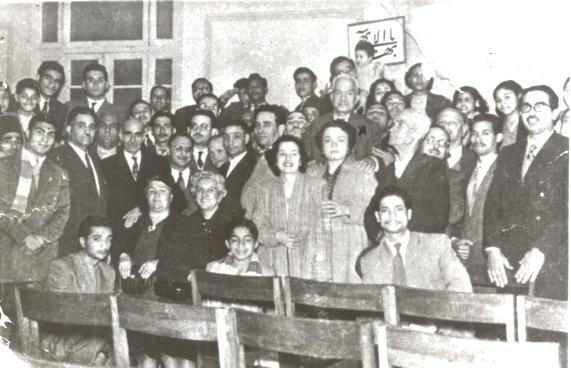 Baha'i National Spiritual Assembly before 1950. Basma Moussa / Daily News Egypt