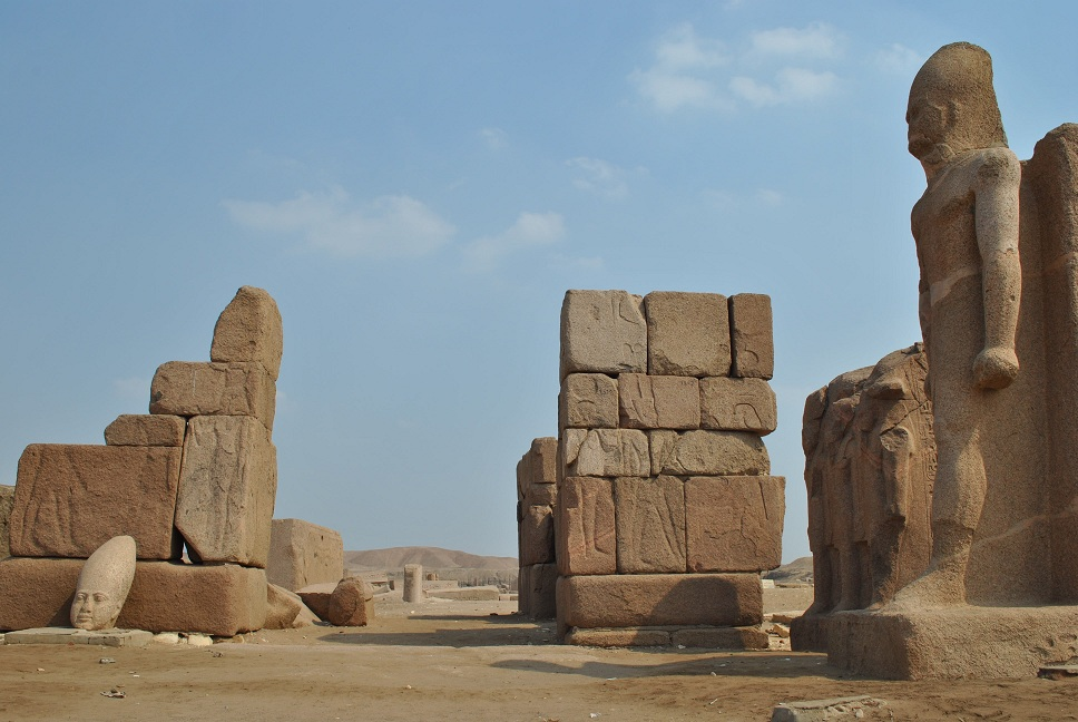 Entrance to the temple of Amon Sayed Ahmed