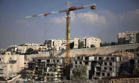 A construction site in the Jewish settlement of Gilo, in East Jerusalem, where expansion will increase separation of Palestinian areas of the city from the West Bank (File photo) Photograph by AFP PHOTO / Menahem Kahana