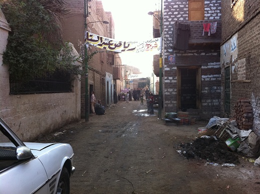 The streets of Mallawi have been subject to the rule of a notorious crime boss. (DNE/ Basil El-Dabh)