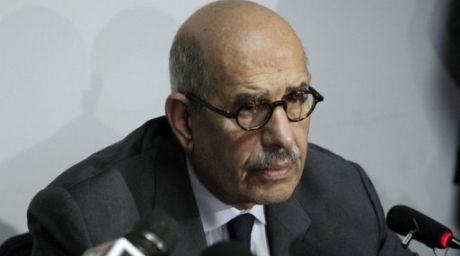 Former UN nuclear monitor and Nobel laureate Mohamed ElBaradei. (AFP photo)