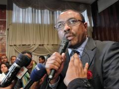 Ethiopia's new PM Hailemariam Desalegn insists the government respects religious freedom. (AFP PHOTO / JENNY VAUGHAN)