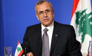 Sleiman is now canvassing political leaders to assess whether they are prepared to join a dialogue. (AFP PHOTO)