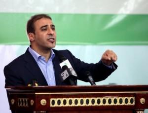 Mussa Ibrahim was the mouthpiece of the toppled Moamer Kadhafi regime (AFP/File, Mahmud Turkia)