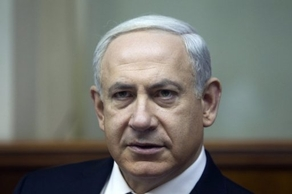 Netanyahu arrived in France Wednesday for a two-day visit that includes talks with President Francois Hollande focusing on the Iranian nuclear programme. (AFP PHOTO)