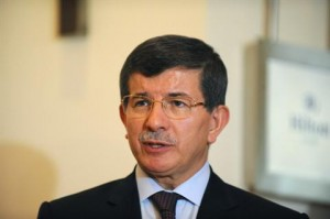 Turkish Foreign Minister Ahmet Davutoglu said the failed truce left Turkey deeply upset. (AFP PHOTO / BULENT KILIC)