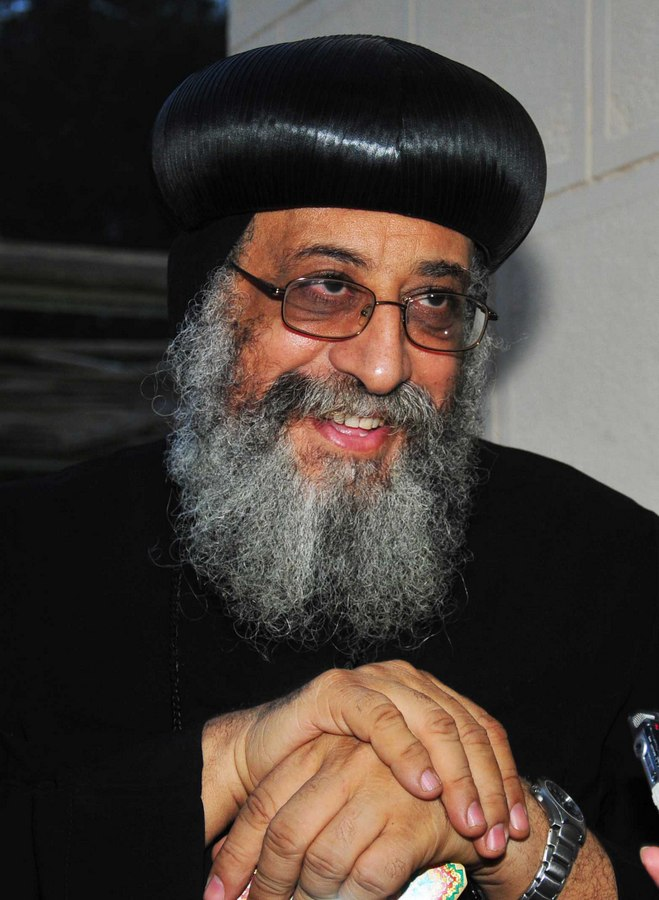 The council includes representatives of the Coptic Orthodox, Catholic, Evangelical, Episcopal and Greek Orthodox churches headed by Pope Tawadros II (File Photo) (Photo by Hassan Ibrahim)