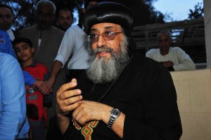 In pictures: Interview with Pope Tawadros (Photo by Hassan Ibrahim)