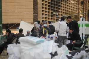 Tahrir Doctors' Society treated many protesters in several clashes that took place during the past two years (file photo) Laurence Underhill