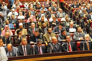 Non-Islamists are threatening to withdraw from the assembly tasked with drafting the new constitution