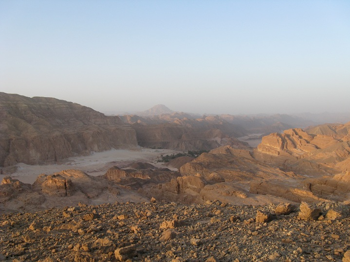 The breathtaking Sinai desert 'Lady' Colleen Heller