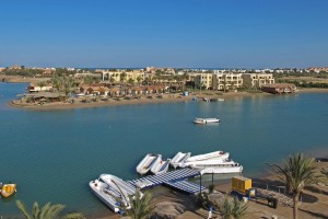 A view from Downtown El Gouna David Cooper