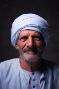 Portrait of a man from Upper Egypt Sherif Karas