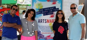 The ArtsMart team during a street show Courtsey of ArtsMart
