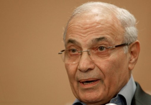 Shafiq has been living abroad in the United Arab Emirates since narrowly losing the first post-Mubarak elections. (AFP PHOTO / Marwan Naamani)