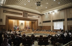 View of the Arab League meeting in Cairo on March 10, 2012. (AFP / FILE PHOTO / Gianluigi Guercia)