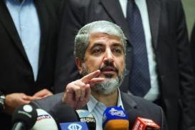 Meshaal spoke to Abbas on the phone, a statement said (AFP / FILE PHOTO, Gianluigi Guercia)