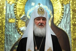 Russian Orthodox Patriarch Kirill held prayers at the Church of the Holy Sepulchre. (AFP / FILE PHOTO)