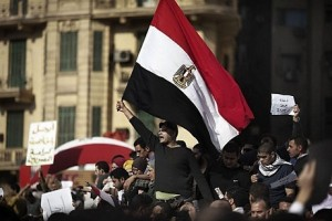 MB called for a million-men march on Tuesday in Abdeen Square. (AFP PHOTO)