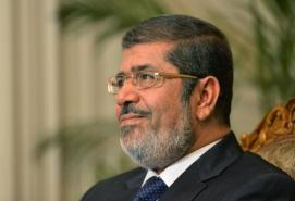 Morsy, who currently holds legislative power, amended the Union Law number 35 for the year 1976. (AFP/File, Khaled Desouki)