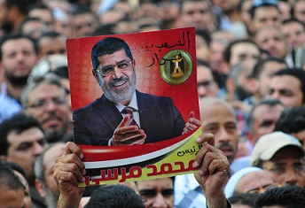 The withdrawal comes as a reaction to the constitutional declaration issued by President Mohamed Morsy on Thursday, making his decrees above judicial review. (DNE / Hassan Ibrahim)