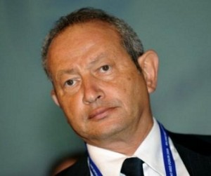 Egyptian tycoon Naguib Sawiris wants to invest 3-4 billion euros in Telecom Italia. (AFP / PHOTO)