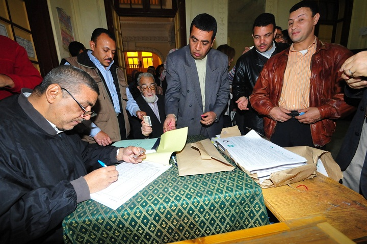 The constitutional referendum will be held on two stages, the final stage will take place next Saturday.. (DNE/ FILE PHOTO/ Hassan Ibrahim)