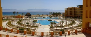 The pools form the InterContinental Resort