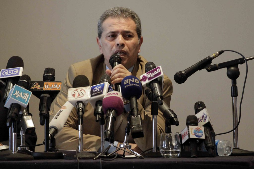 Tawfik Okasha returns to Egyptian TV Courtesy of Mohamed Omar