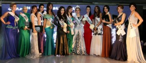The Miss Arab World ended with Syrian Nadeen Fahd taking home the crown Courtesy of AFP PHOTO/AMRO MARAGHI