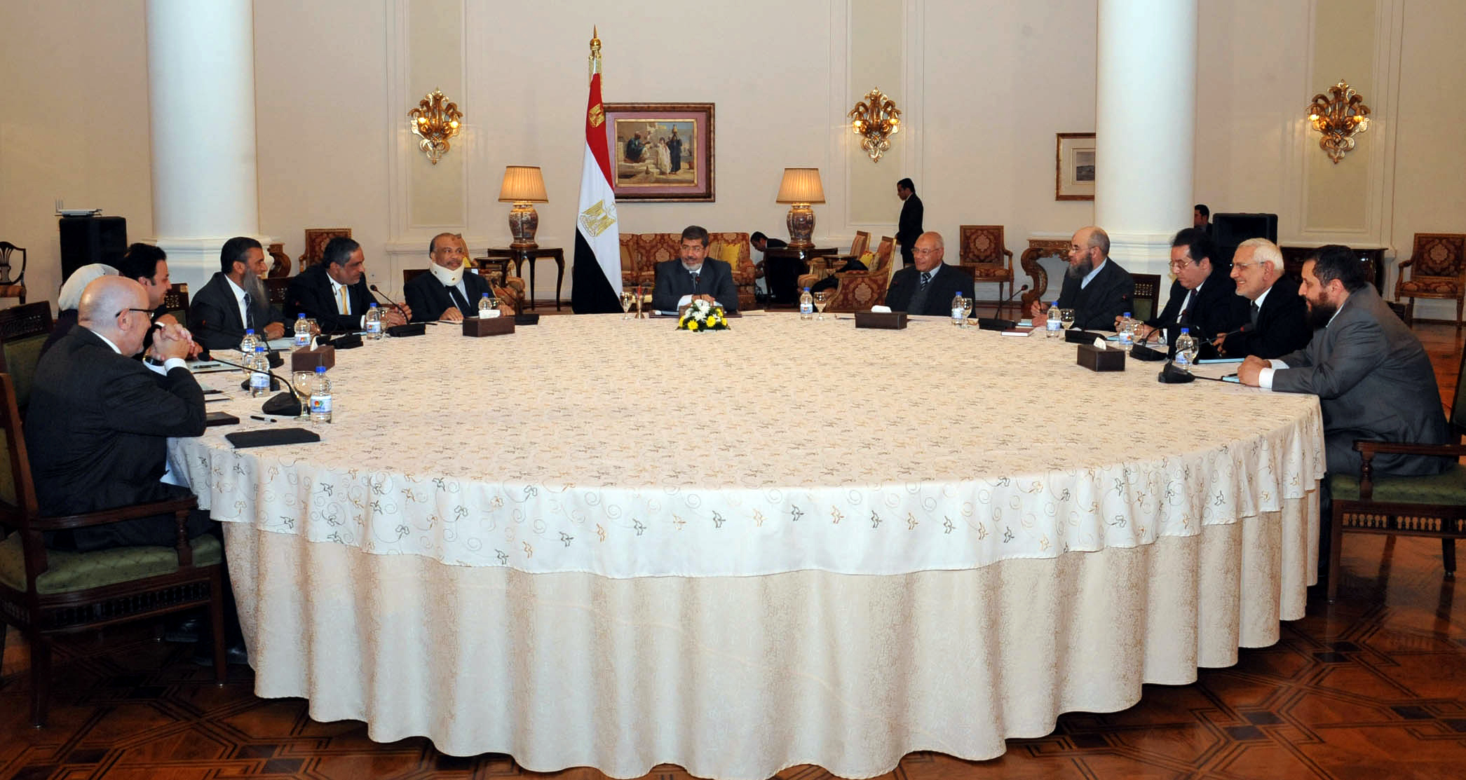 The Strong Egypt Party decided to boycott all the upcoming national dialogue sessions(File Photo)(AFP-Photo)