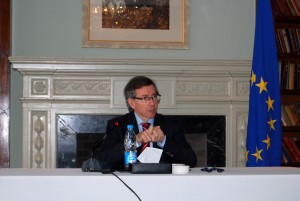 Bernardino Leon, EU special envoy for the Southern Mediterranean region (Joel Gulhane)