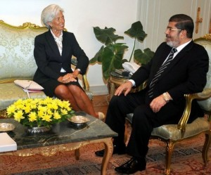 """Morsi described IMF as a """"testament to how capable Egypt is in transitioning economically, rather than a funding opportunity"""". (AFP Photo /Egyptian Presidency)"""