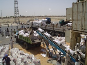 Land port on Egypt-Sudan border to be completed by Jan 2014 (AFP)