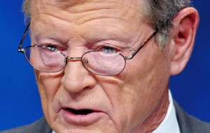 "Senator Inhofe described Morsi as an ""enemy"" during a debate about US military aid to Egypt (AFP Photo / Mandel Ngan)"