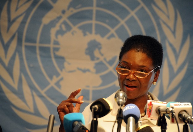 "Valerie Amos described the situation in the war-torn country as ""devastating."" Photo:Valerie Amos , the UN Under-Secretary-General for Humanitarian Affairs and Emergency Relief Coordinator (AFP\Photo)"