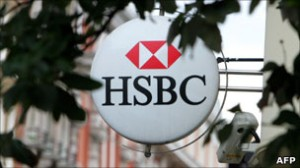 An HSBC bank branch manager was beaten by a group of military officers following an argument between bank employees and an officer on Sunday. (AFP Photo)