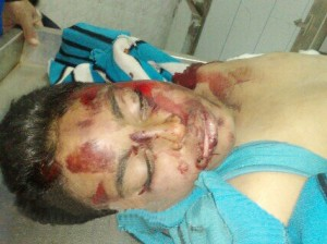 Mahmoud Al-Qot, teenager who died on Friday clashes in Mahalla. By: Mahmoud Haroon