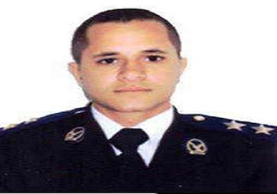 Lieutenant Mahmoud Nassef died in the early hours of Tuesday after he was shot while trying to arrest the culprits of a bank robbery attempt. (Photo Courtesy of Facebook)
