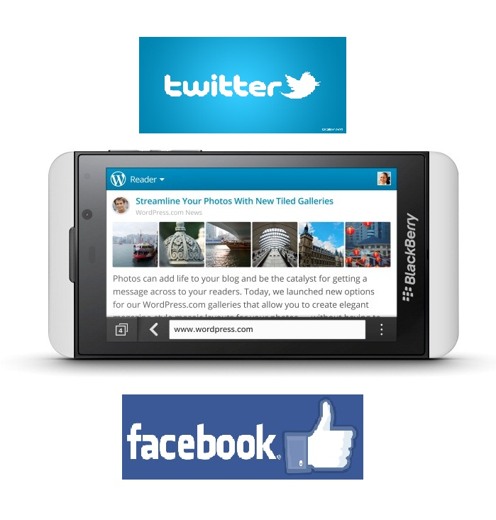 BlackBerry 10 releases enhanced versions of Facebook and