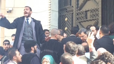 Dissent inside lawyers' circles have been increasing Omar Korashi