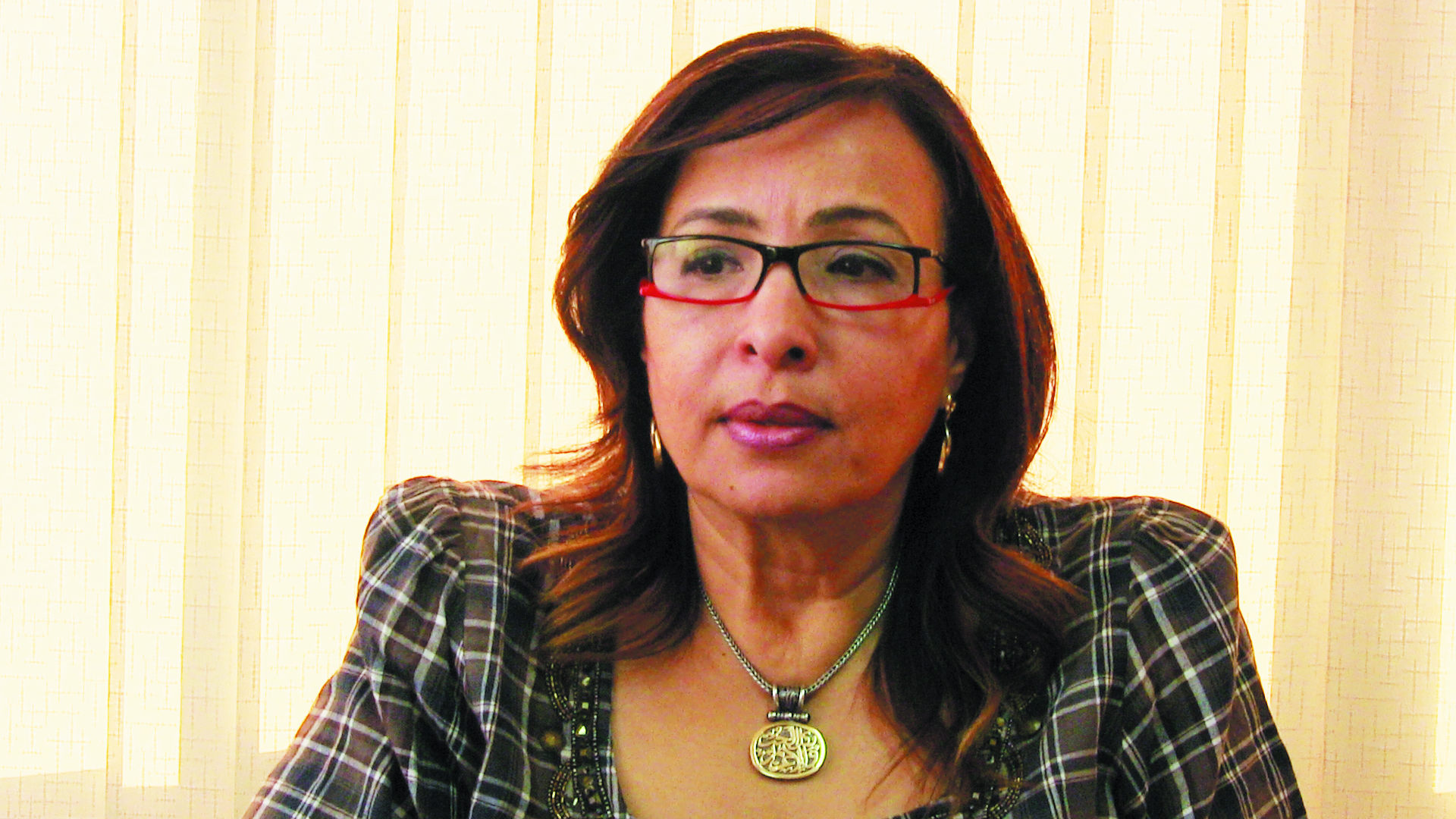 Amani El-Torgoman, president of large Egyptian travel company Travco (Alborsa Photo)